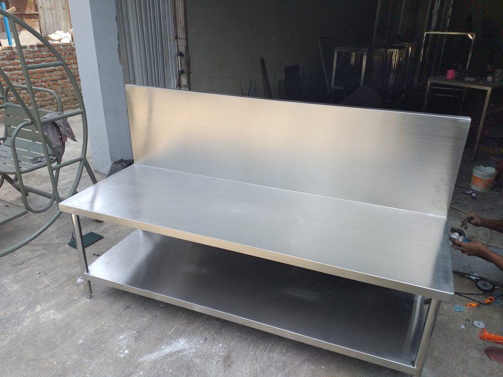 Meja Kompor Stainless Steel